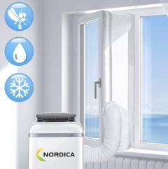 Nordica - Airco raamafdichtingskit - 400 cm